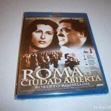 Cine: ROMA CIUDAD ABIERTA BLU-RAY NUEVO PRECINTADO ANNA MAGNANI ALGO FABRIZI ROBERTO ROSELLINI. Lote 226401090