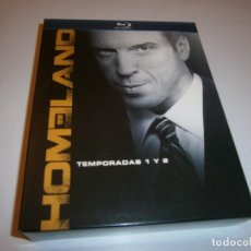 Cine: HOMELAND BLU-RAY TEMPORADAS 1 Y 2. Lote 226401145