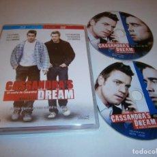 Cine: CASSANDRA'A DREAM (EL SUEÑO DE CASSANDRA) BLU-RAY EDICION ESPECIAL BR + DVD WOODY ALLEN COLIN FARREL. Lote 226401210