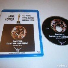 Cine: DANZAD DANZAD MALDITOS BLU-RAY JANE FONDA. Lote 226401237
