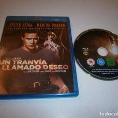 Cine: UN TRANVIA LLAMADO DESEO BLU-RAY VERSION ORIGINAL RESTAURADA MARLON BRANDO. Lote 226401425