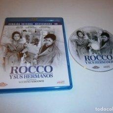 Cine: ROCCO Y SUS HERMANOS BLU-RAY VERSION INTEGRA RESTAURANDA 4K ALAIN DELON LUCHINO VISCONTI. Lote 226401565