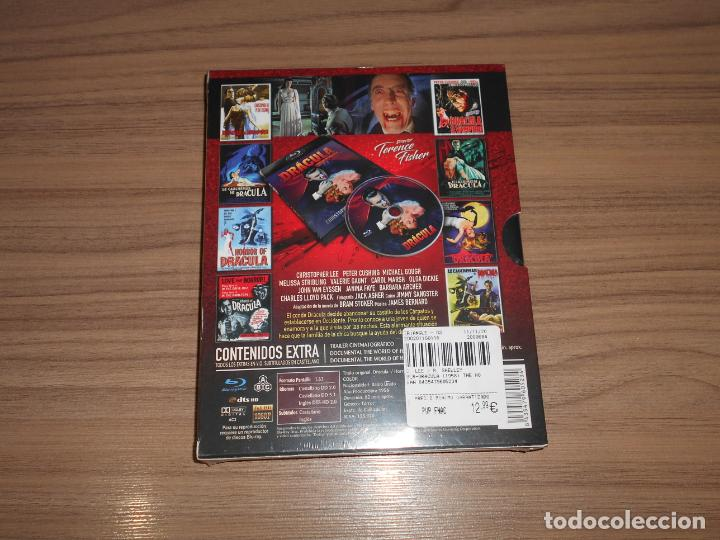 Cine: DRACULA HORROR of DRACULA Edicion especial BLU-RAY DISC + Postales NUEVO PRECINTADO - Foto 2 - 226442495