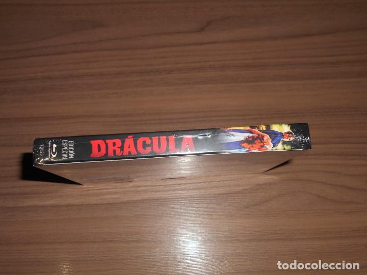 Cine: DRACULA HORROR of DRACULA Edicion especial BLU-RAY DISC + Postales NUEVO PRECINTADO - Foto 3 - 226442495