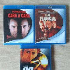 Cine: ENVIO INCLUIDO // LOTE NICOLAS CAGE BLU RAY: CARA A CARA, LA ROCA, 60 SEGUNDOS. Lote 218001188