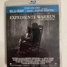 Cine: BLU-RAY - EXPEDIENTE WARREN - THE CONJURING - 2 DISCOS.. Lote 228063505
