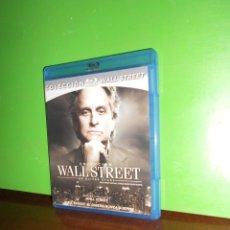 Cine: WALL STREET + WALL STREET EL DINERO NUNCA DUERME PACK 2 BLU-RAY 2 BLURAY - DISPONGO DE MAS BLU-RAYS. Lote 228512505