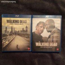 Cine: THE WALKING DEAD TEMPORADA 1 Y 6 COMPLETAS BLURAY. Lote 228946260