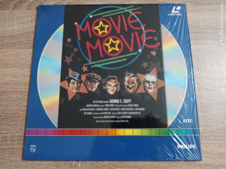 MOVIE MOVIE.LASER DISC.DE GEORGE C SCOTT. CINE (Cine - Películas - Blu-Ray Disc)