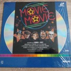 Cine: MOVIE MOVIE.LASER DISC.DE GEORGE C SCOTT. CINE. Lote 229477715