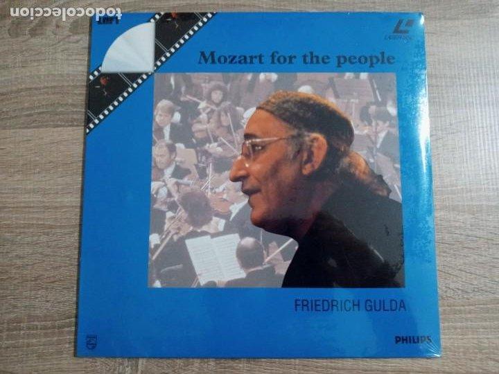 MOZART FOR THE PEOPLE. FRIEDRICH GULDA.LASER DISC (Cine - Películas - Blu-Ray Disc)