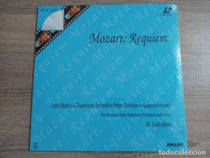 MOZART REQUIEM.THE BABARIAN RADIO ORCHESTRA Y COROS..LASER DISC.NUEVO (Cine - Películas - Blu-Ray Disc)
