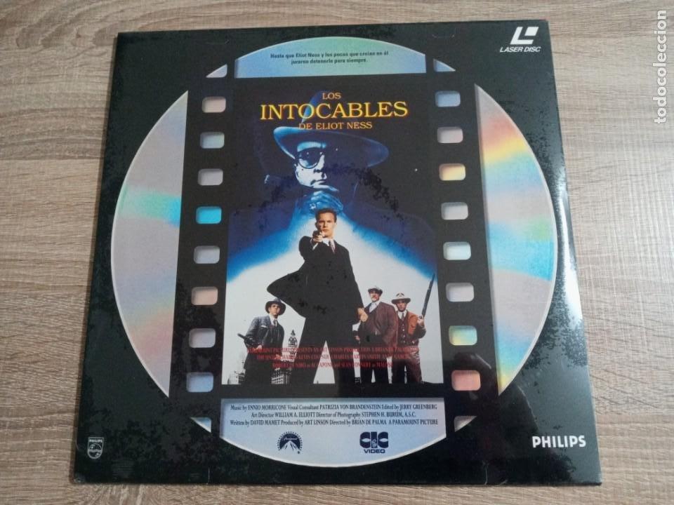 LOS INTOCABLES DE ELIOT NESS.LASER DISC. OSCAR SEAN CONNERY 1989.NUEVO. (Cine - Películas - Blu-Ray Disc)