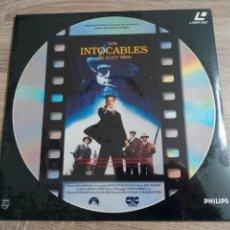 Cine: LOS INTOCABLES DE ELIOT NESS.LASER DISC. OSCAR SEAN CONNERY 1989.NUEVO.. Lote 229481155
