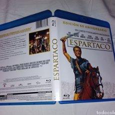 Cine: ESPARTACO KIRK DOUGLAS KUBRICK BLU RAY DISC ORIGINAL. Lote 229578525