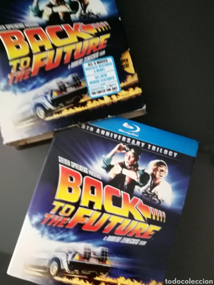 Cine: Regreso al futuro Trilogía BLU Ray 6 discos 25 aniversario Back to the future - Foto 2 - 230052335