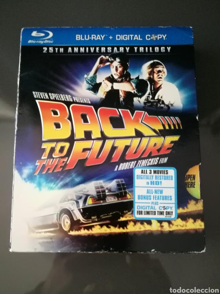 REGRESO AL FUTURO TRILOGÍA BLU RAY 6 DISCOS 25 ANIVERSARIO BACK TO THE FUTURE (Cine - Películas - Blu-Ray Disc)