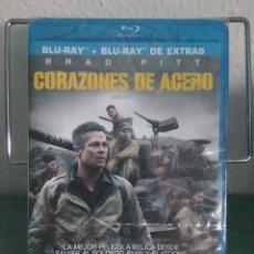 Cine: CORAZONES DE ACERO (FURY) EN BLU RAY. EDICION 2 DISCOS. // PROMOCIÓN EN LOS ENVÍOS. LEER DESCRIPCIÓN. Lote 154321906