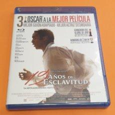 Cine: 12 AÑOS DE ESCLAVITUD - BLURAY. Lote 231802610