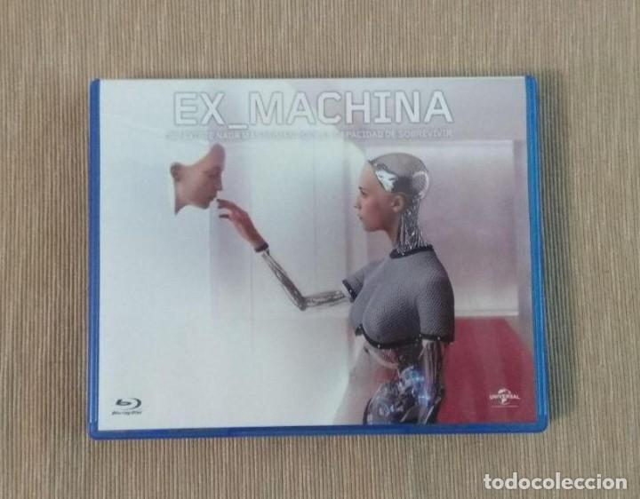 ENVIO INCLUIDO // BLU RAY EX MACHINA. (Cine - Películas - Blu-Ray Disc)