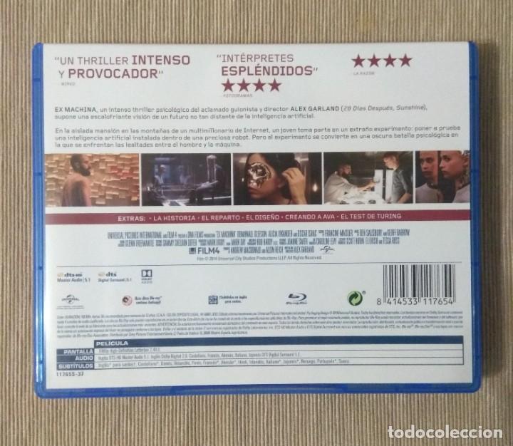 Cine: Envio incluido // Blu ray Ex machina. - Foto 2 - 198596081