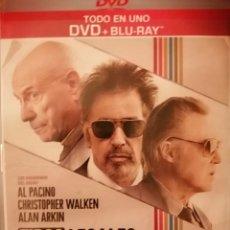 Cine: VENDO BLU RAY PELÍCULA TIPOS LEGALES CON AL PACINO. Lote 234005080