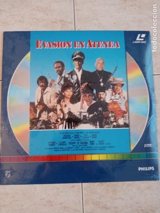 LASER DISC .EVASION EN ATENEA.ROGER MOORE.DAVID NIVEN.CLAUDIA CARDINALE ETC..NUEVO DE TIENDA ETC... (Cine - Películas - Blu-Ray Disc)