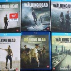 Cinema: .!!! THE WALKING DEAD !!! 1-6 TEMPORADAS BLURAY *** 3 COMO NUEVAS Y 3 PRECINTADAS ****. Lote 234710465