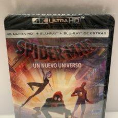 Cinema: REF.10395 SPIDERMAN UN NUEVO UNIVERSO 4K + BLURAY NUEVO PRECINTADO. Lote 234826255
