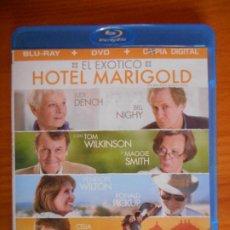 Cinéma: BLU-RAY + DVD + COPIA DIGITAL EL EXOTICO HOTEL MARIGOLD - 2 DISCOS (6F). Lote 236226495