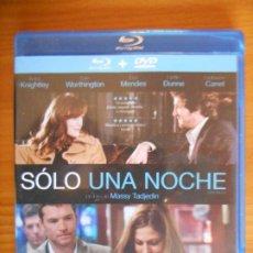 Cinéma: BLU-RAY + DVD SOLO UNA NOCHE - 2 DISCOS - KEIRA KNIGHTLEY (6M). Lote 236243590
