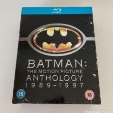 Cine: BATMAN (1989) + BATMAN VUELVE (1992) + BATMAN FOREVER (1995) + BATMAN Y ROBIN (1997), BLU RAY. Lote 236467485