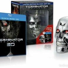 Cine: TERMINATOR: GENESIS EDICION LIMITADA BLU-RAY + 3D + DVD + CALAVERA PRECINTADO. Lote 236859350