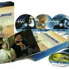 Cine: STAR WARS LA SAGA COMPLETA CAJA COLECCIONISTAS ESPAÑOLA BLU-RAY NUEVO PRECINTADO. Lote 236860095