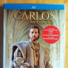 Cine: CARLOS REY EMPERADOR -SERIE COMPLETA - BLURAY BLU RAY 5 DISCOS. Lote 236907005