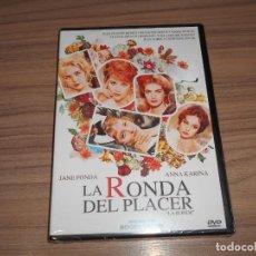 Cine: LA RONDA DEL PLACER DVD ANNA KARINA JANE FONDA NUEVA PRECINTADA. Lote 289241873