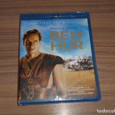 Cine: BEN-HUR EDICION ESPECIAL 2 BLU-RAY DISC CHARLTON HESTON NUEVO PRECINTADO. Lote 239593255