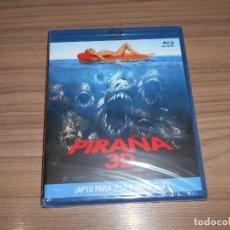 Cine: PIRAÑA 3D BLU-RAY DISC Y BLU-RAY DISC 3D + 2D TERROR NUEVO PRECINTADO. Lote 295744623