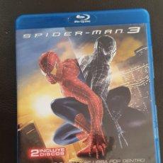 Cine: SPIDER-MAN 3 BLURAY EN MUY BUEN ESTADO DOBLE BLU-RAY DISC. Lote 241453325