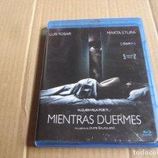 Cine: MIENTRAS DUERMES LUIS TOSAR MARTA ETURA-TERROR SUSPENSE-MUY BUENA. Lote 242095060