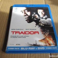 Cine: TRAIDOR-DON CHEADLE-GUY PEARCE-YIHADISMO..TERRORISMO..ACCION..INTRIGA..MUY BUENA BLURAY+DVD. Lote 242102545