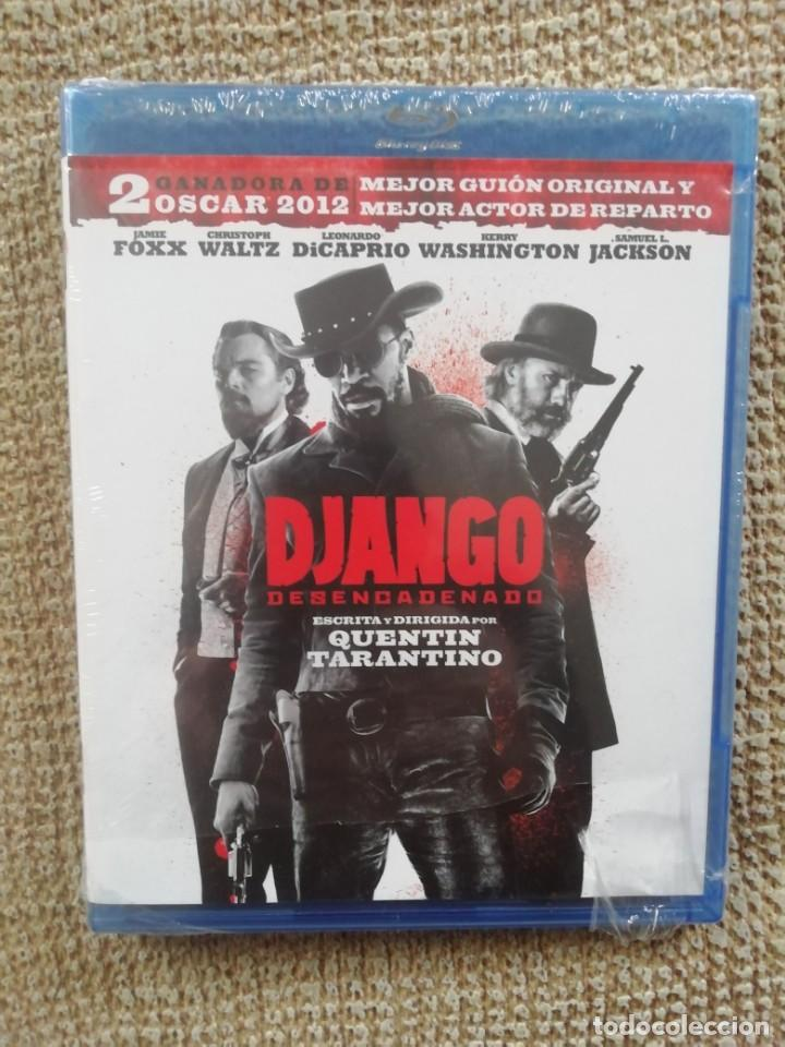 DJANGO DESENCADENADO BLURAY - TARANTINO - DICAPRIO - JAMIE FOXX - NUEVO, SIN DESPRECINTAR (Cine - Películas - Blu-Ray Disc)