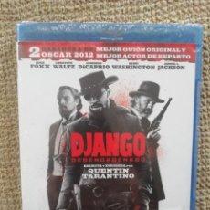 Cine: DJANGO DESENCADENADO BLURAY - TARANTINO - DICAPRIO - JAMIE FOXX - NUEVO, SIN DESPRECINTAR. Lote 243201185