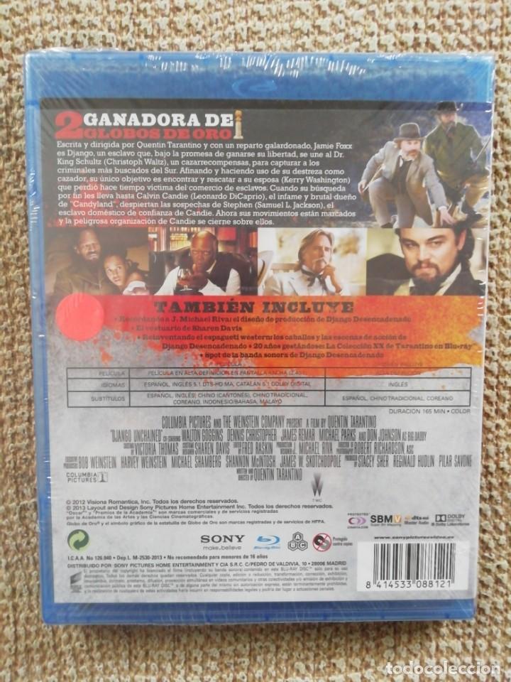 Cine: DJANGO DESENCADENADO BLURAY - TARANTINO - DICAPRIO - JAMIE FOXX - NUEVO, SIN DESPRECINTAR - Foto 2 - 243201185