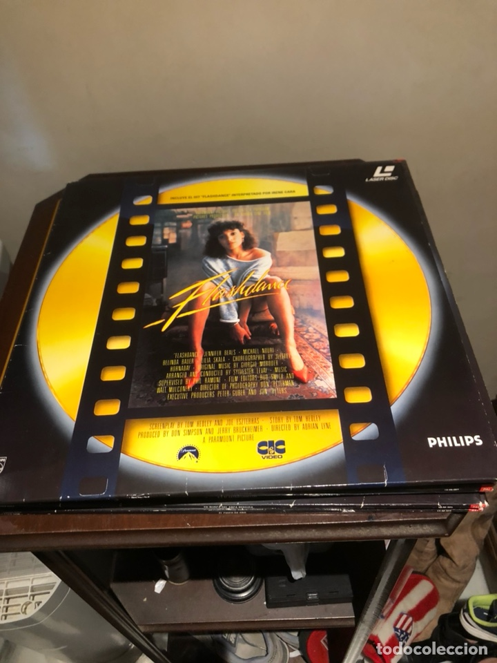 LOTE DE VARIAS PELÍCULAS LÁSER DISC (Cine - Películas - Blu-Ray Disc)