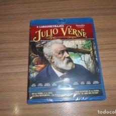 Cine: JULIO VERNE 5 COLECCION BLU-RAY DISC AL AMO MUNDO - VUELTA MUNDO 80 DIAS - CENTRO TIERRA ETC NUEVO. Lote 243549180