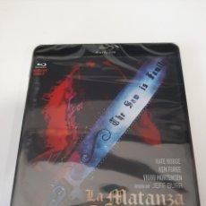 Cine: REF. 10895 LA MATANZA DE TEXAS 3 BLURAY NUEVO A ESTRENAR. Lote 243837840