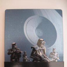 Cine: ROGUE ONE: UNA HISTORIA DE STAR WARS • BLU-RAY + BLU-RAY EXTRAS (NO INCLUYE DISCO 3D) STEELBOOK. Lote 244599200