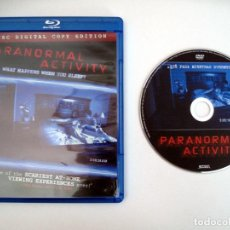 Cine: PARANORMAL ACTIVITY • BLU-RAY UNCUT (USA NTSC) + DVD ESPAÑOL. Lote 244603585
