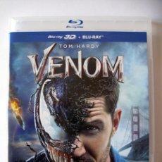 Cine: VENOM • BLU-RAY (NO CONTIENE DISCO 3D). Lote 244605740